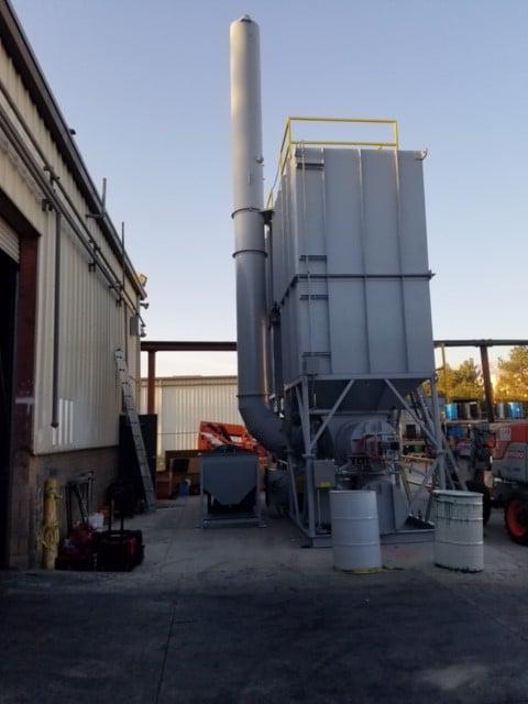 涂层工业用再生热氧化剂- 12,000 SCFM