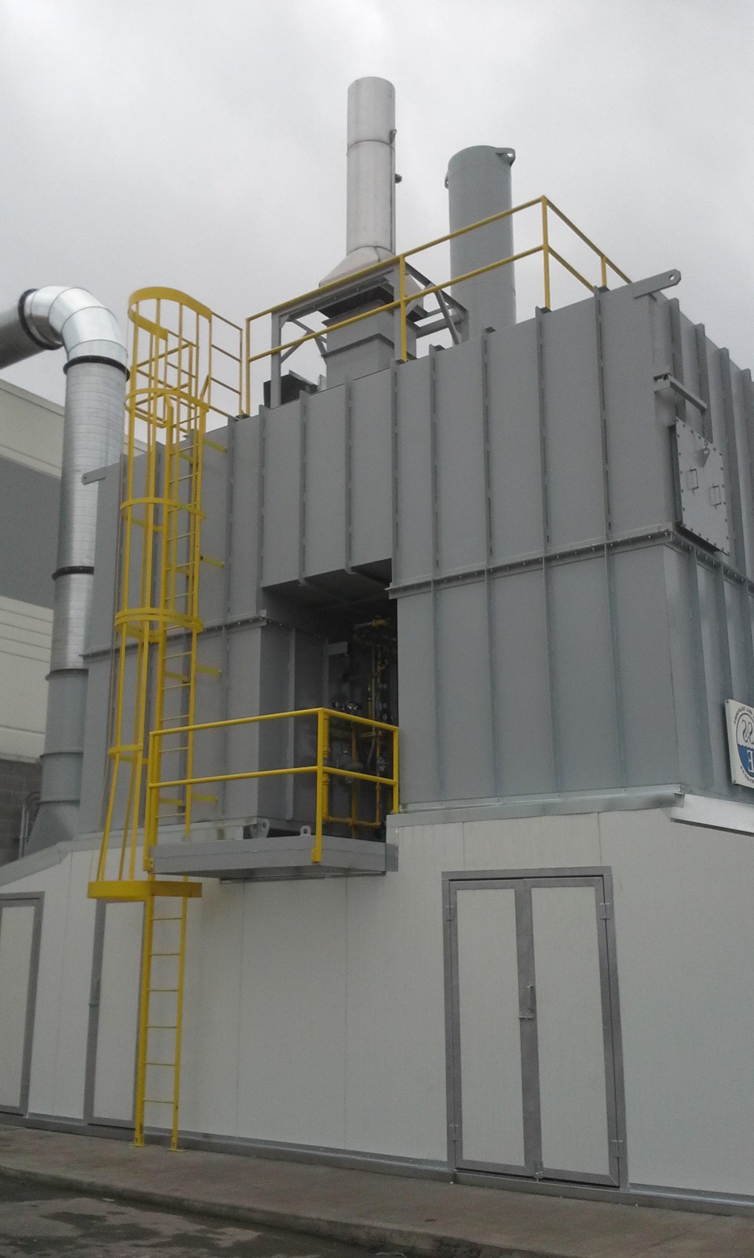 15,000 SCFM再生热氧化剂