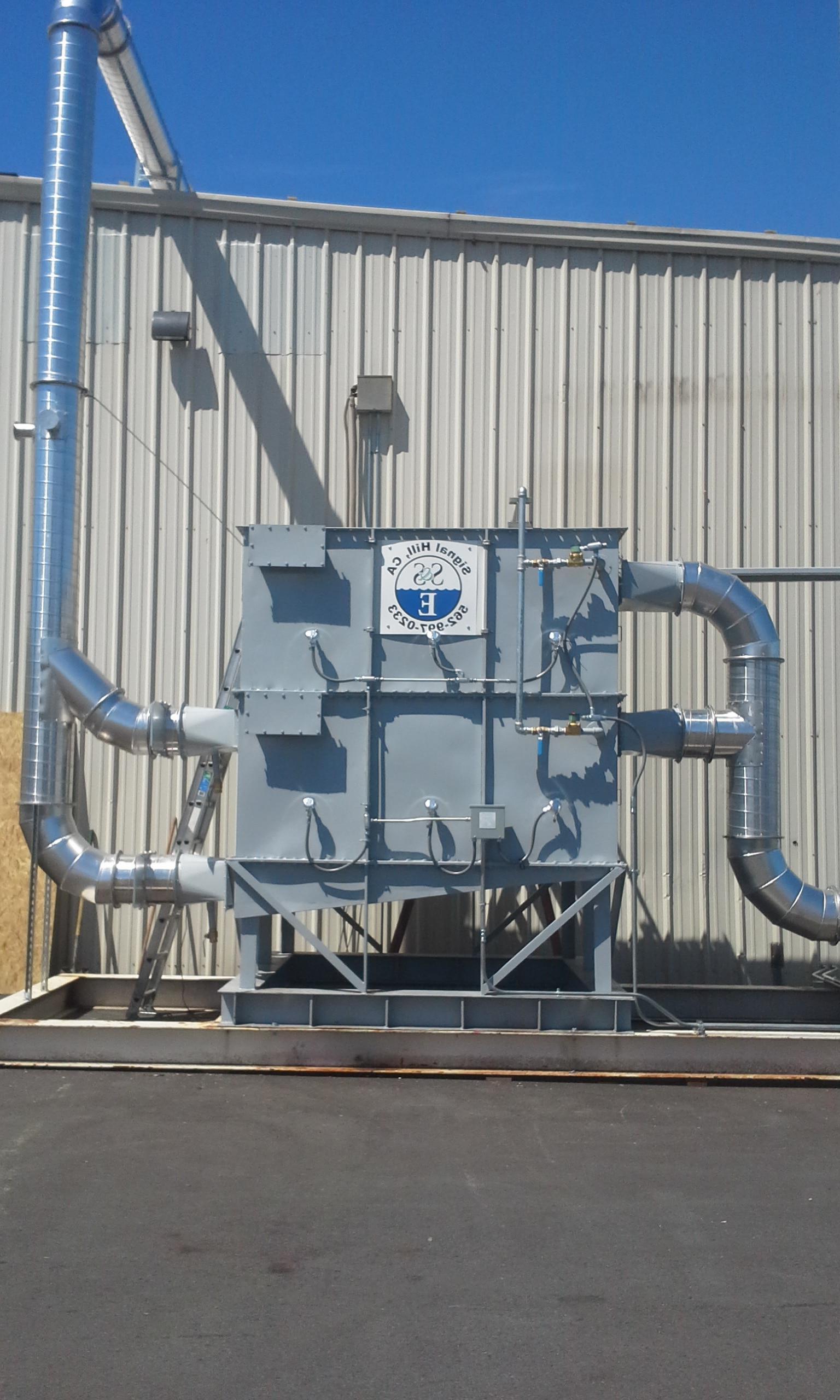 2塔式活性炭活性炭床