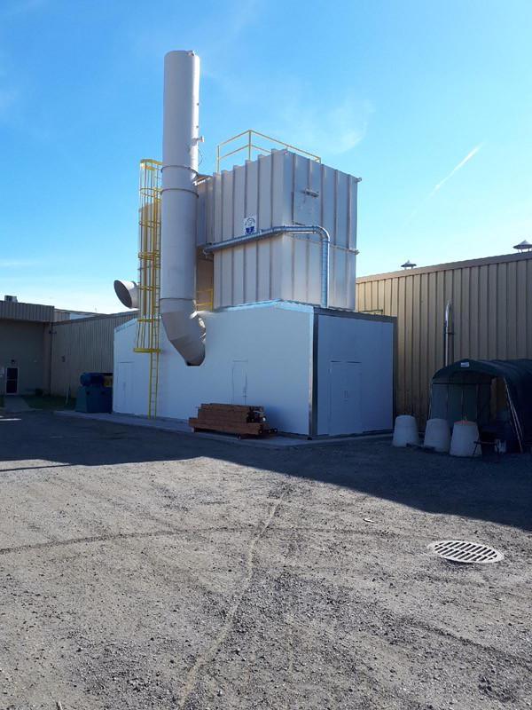 再生热氧化剂- 33,000 SCFM