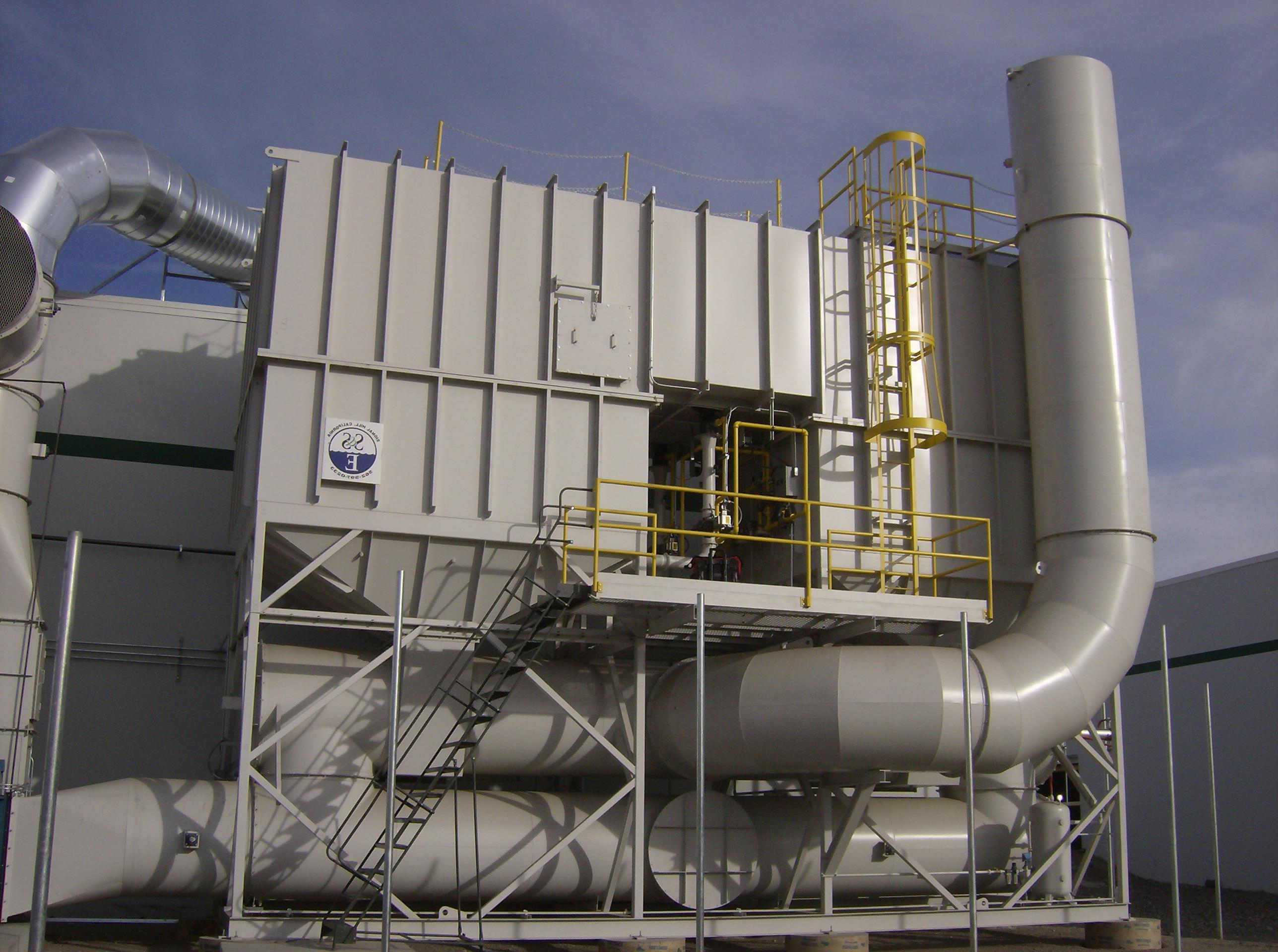 再生热氧化剂- 40000 SCFM