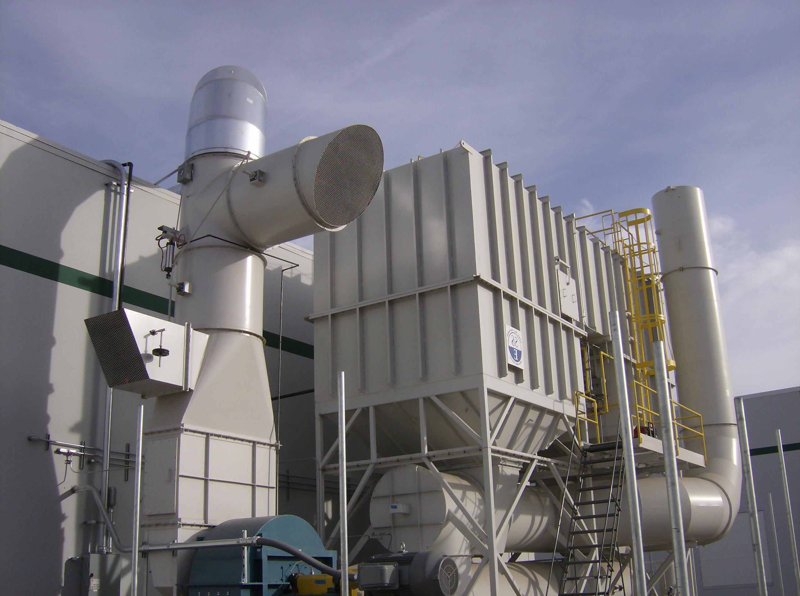 40000 SCFM再生热氧化剂