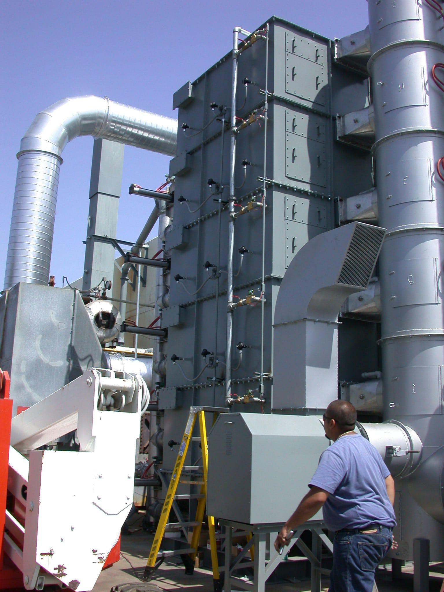 5热氧化剂塔碳床