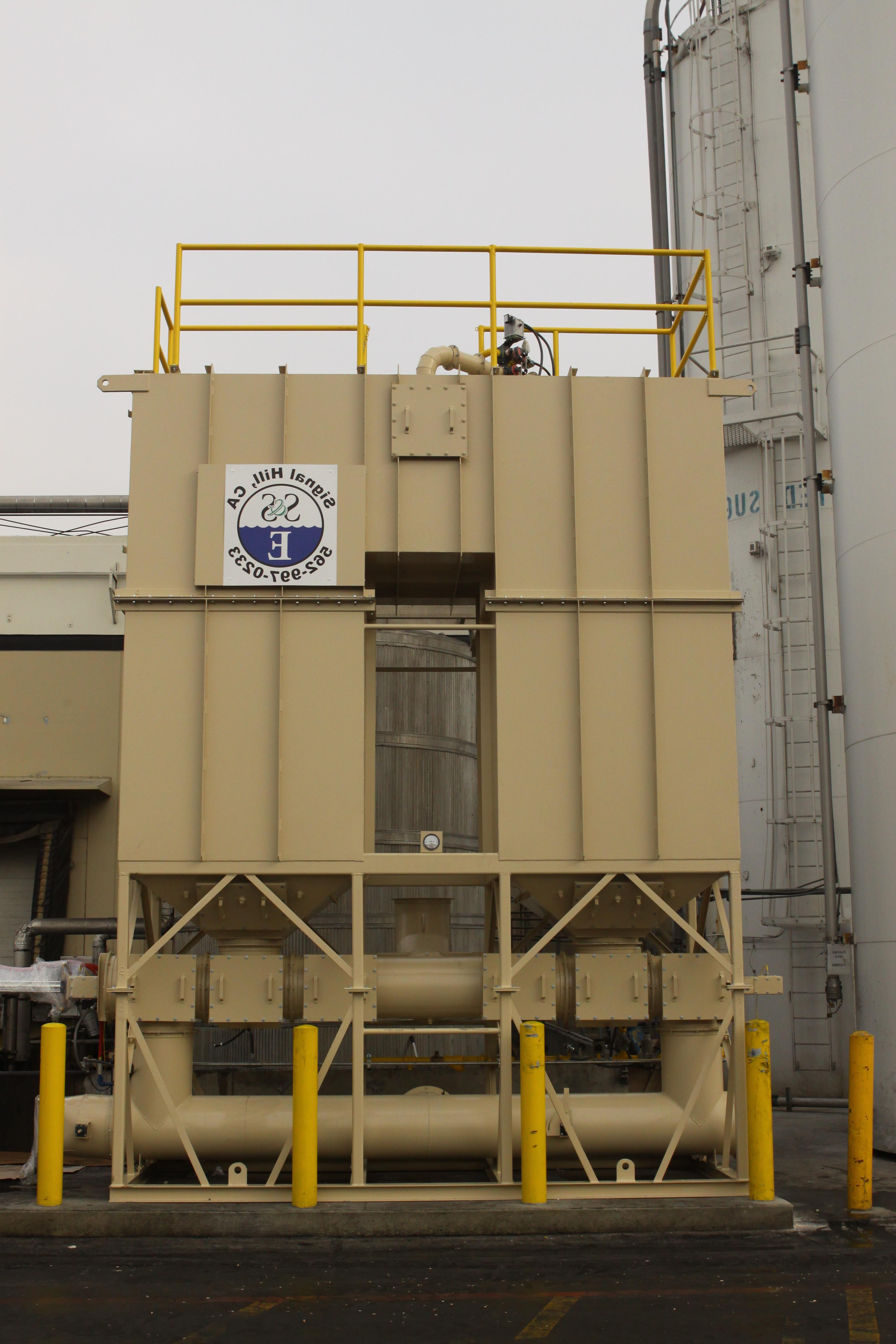 用于食品制造的再生热氧化剂- 5,000 SCFM