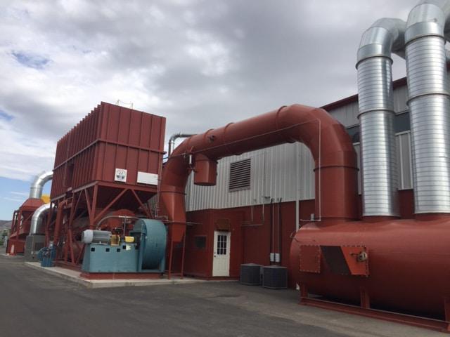 50,000 SCFM蓄热式热氧化剂,带换热器