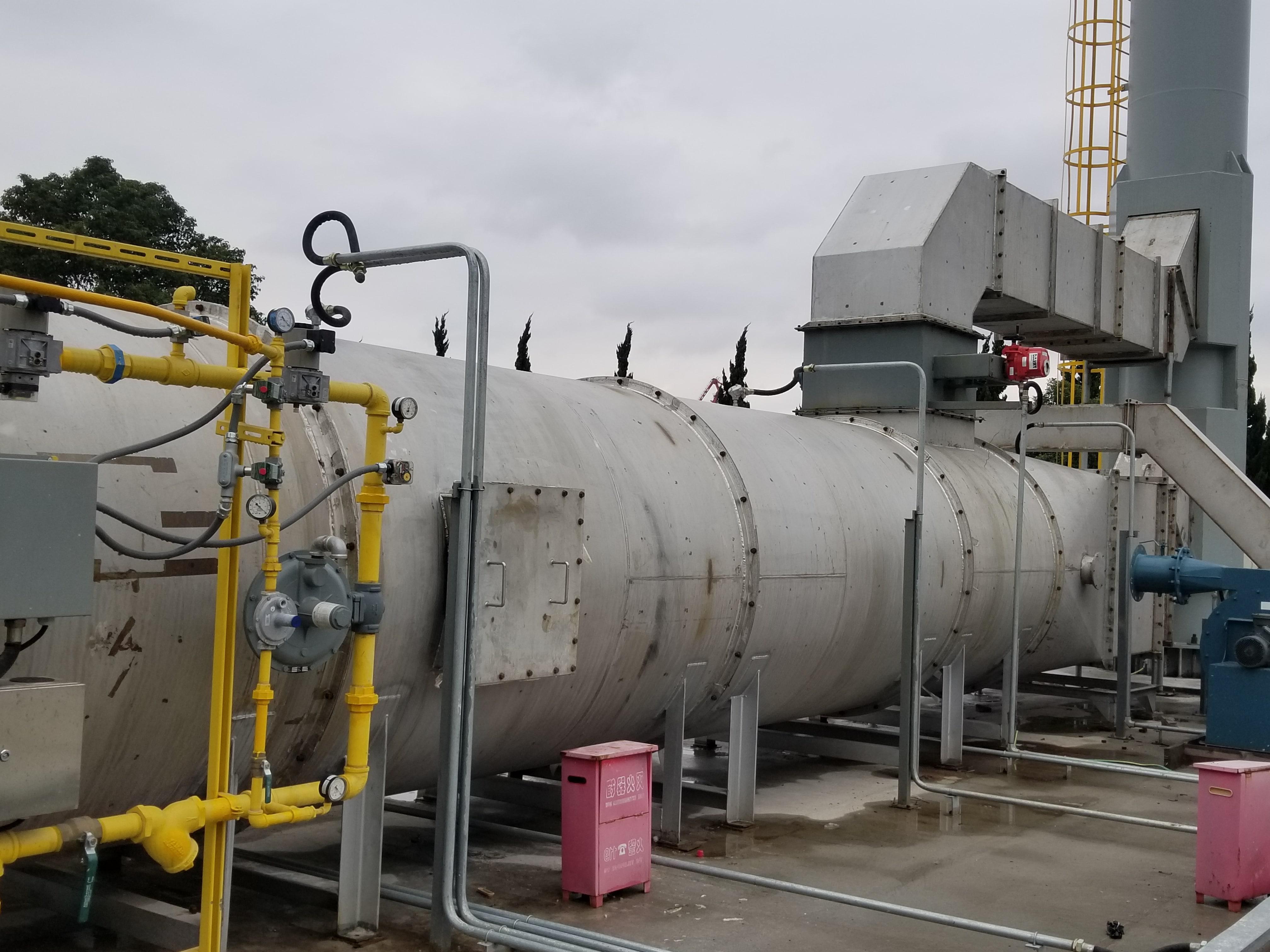回收热氧化剂-空气污染控制