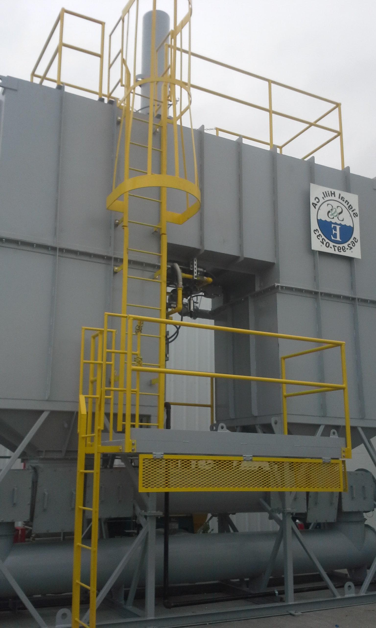 10000 SCFM再生热氧化剂