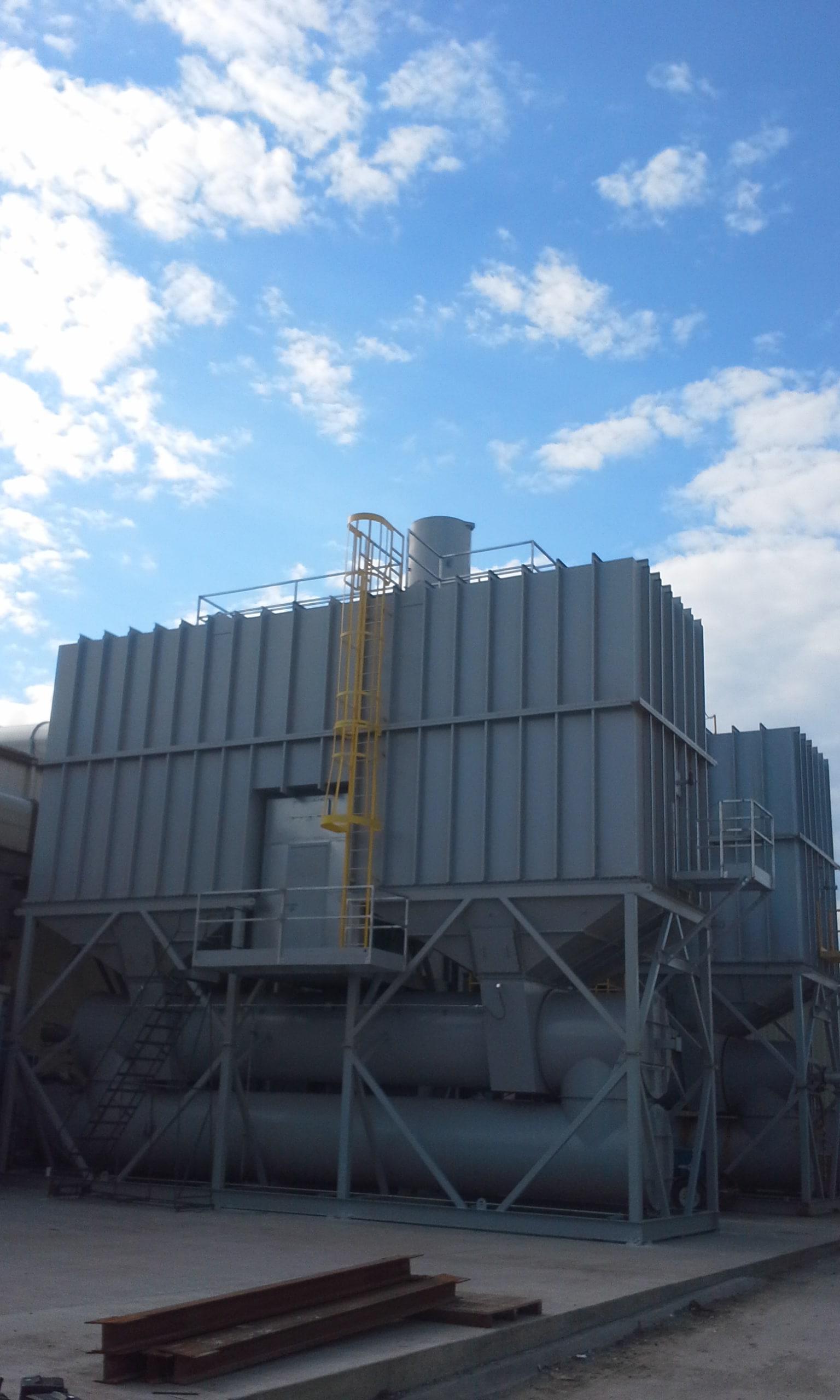 60000 SCFM再生热氧化剂