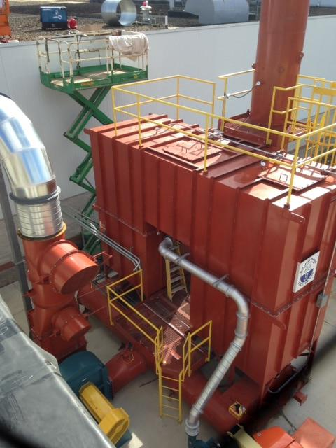 VOC收集12,500 SCFM再生热氧化剂