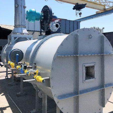 船岸直烧热氧化剂DFTO用于沼气