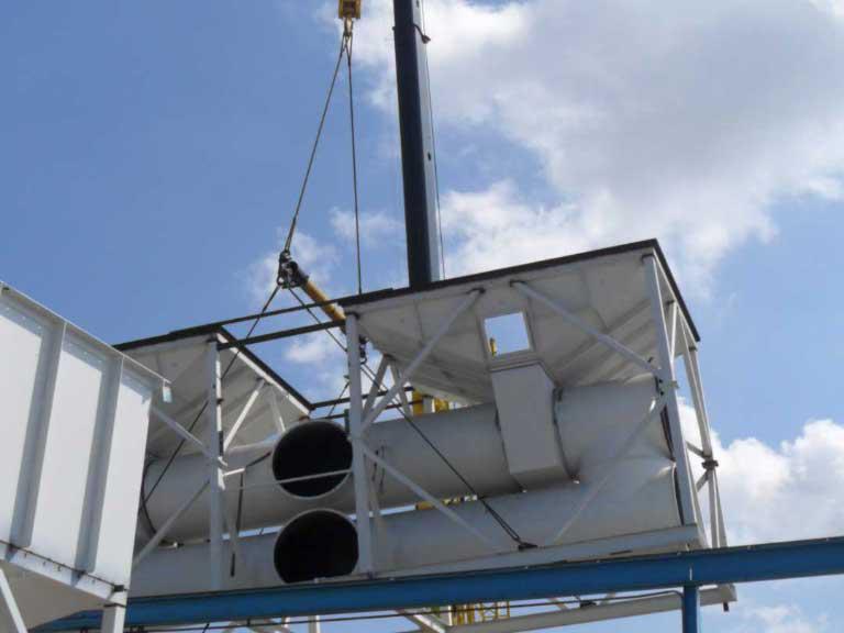 安装空气污染消减系统